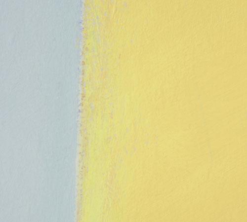 Wandmalerei (Detail) | Acryl, Öl und Enkaustik | 3,4 x 10 m | 2009 | Museum Ostwall Dortmund