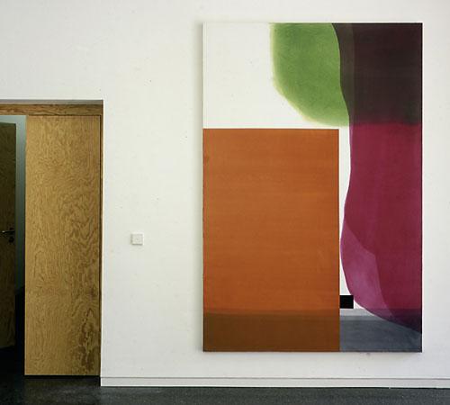 Bild für den Kindergarten | Acryl auf Nessel | 240 x 140 cm | 2008