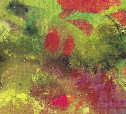 o.T. | Öl und Acryl auf Leinwandtafel | 28 x 36 cm | 2012