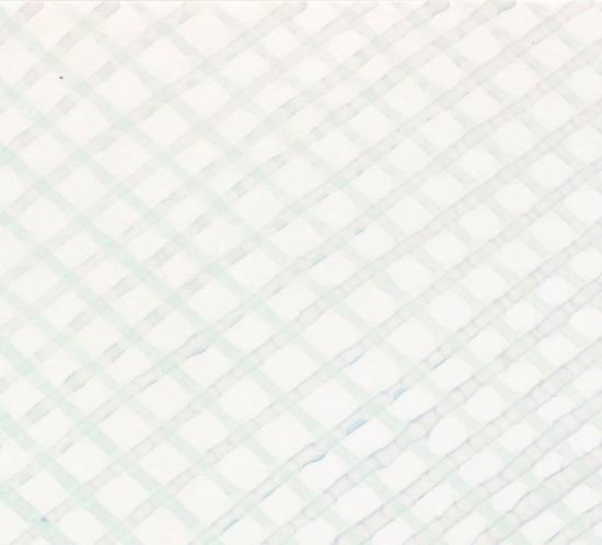 "o.T. ""Faserstift 73"" (Ausschnitt) |  Mineralsalze auf Chromatographie-Papier | 2015"